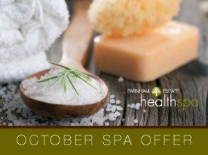 October Spa Offer, Farnham Estate Health Spa Co. Cavan