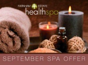 September Spa Offer, Farnham Estate Health Spa Co. Cavan