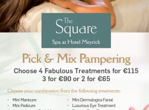 Pick & Mix Pampering Package, The Square Spa Co. Galway