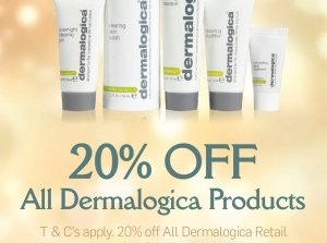 20% off Dermalogica Products!, The Square Spa Co. Galway