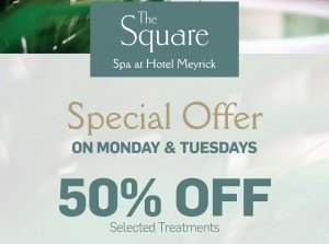 50% off on Mondays & Tuesdays!, The Square Spa Co. Galway