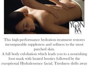 Head to Toe Reviver, The Peninsula Spa, Dingle Skellig Hotel Co. Kerry