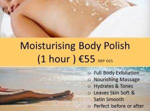 Moisturising Body Polish, The Peninsula Spa, Dingle Skellig Hotel Co. Kerry