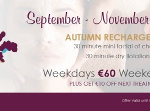 Autumn Recharge, sansanaSPA at The Royal Marine Hotel Co. Dublin
