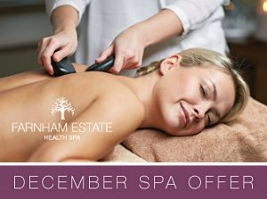 December Spa Special Offer €129, Farnham Estate Spa Co. Cavan