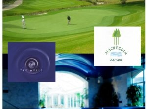 Golf or Pamper? Just the Two of Us..., The Wells Spa Co. Wicklow