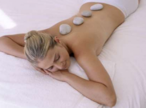LA Stone Back Massage with Hand and Arm Massage, The Victorian Treatment Rooms at Castle Leslie Estate Co. Monaghan