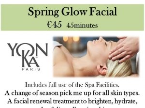 Spring Glow Facial, The Peninsula Spa, Dingle Skellig Hotel Co. Kerry