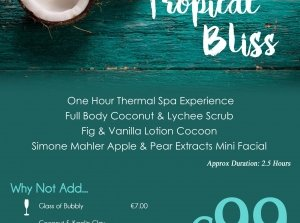 Tropical Bliss, Reva's Spa  Co. Limerick