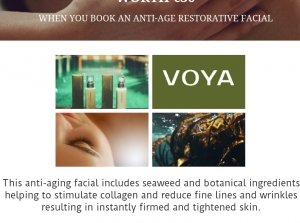 Voya Anti-Aging  Facial & Marine Eye Treatment, Revas Spa and Hair Gallery Co. Limerick