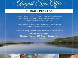 Summer Package, The Peninsula Spa, Dingle Skellig Hotel Co. Kerry