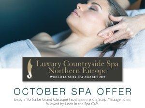 October Spa Offer, Farnham Estate Spa Co. Cavan
