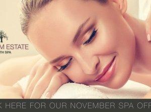 November Spa Offer, Farnham Estate Spa Co. Cavan