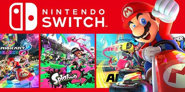 Nintendo Switch Listado De Juegos Y Accesorios En Oferta