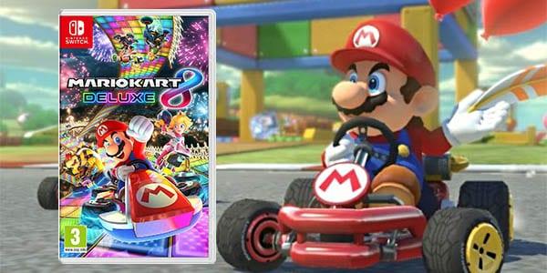 Mejor Precio Mario Kart 8 Deluxe Para Nintendo Switch Solo 45 90