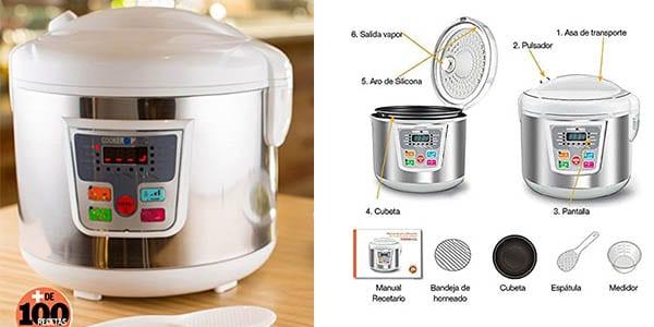 Chollo robot de cocina inteligente cookeomatic solo 33 for Cocina inteligente