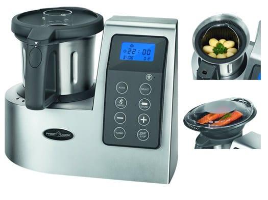 M nimo hist rico robot de cocina proficook por solo 135 97 for Robot de cocina oferta