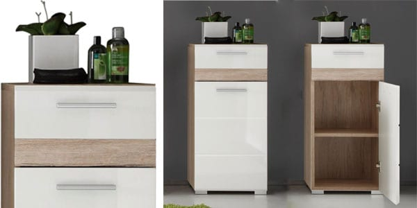 Oportunidad mueble auxiliar para ba o trendteam por 64 for Super chollo muebles