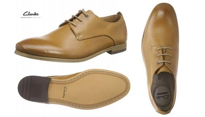 Mitad de precio zapatos derby clarks chinley walk para for Zapateros baratos amazon