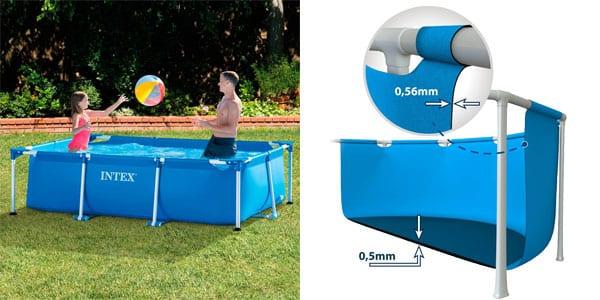 M s barata piscina desmontable intex por tan solo 55 43 for Piscinas super baratas