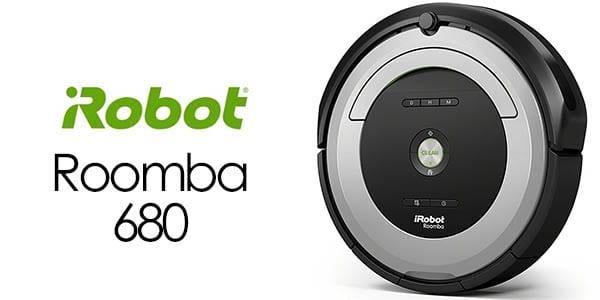 s lo hoy 115 aspirador irobot roomba 680 solo 283 99. Black Bedroom Furniture Sets. Home Design Ideas