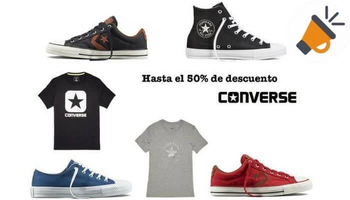 Rebajas Converse con descuentos del 40% en zapatillas por el