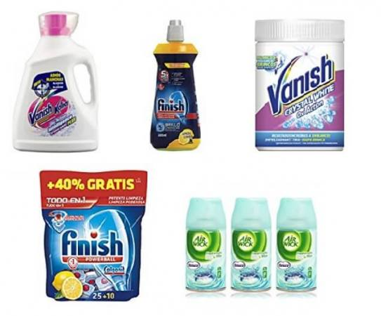 Oferta del d a hasta un 30 dto en art culos de limpieza for Articulos para limpieza del hogar