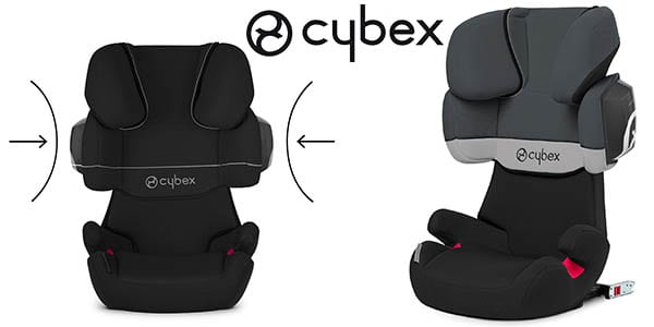 ofert n silla de coche cybex solution x2 fix 15 36kg. Black Bedroom Furniture Sets. Home Design Ideas