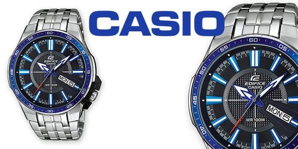 a57a9a9e560 CHOLLAZO! Reloj Casio Edifice EFR-106D para hombre sólo 77