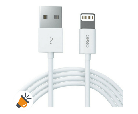 08ddbbd6618 CÓDIGO DTO -50%! Cable de carga para iPhone, iPad, iPod por sólo 4,50€