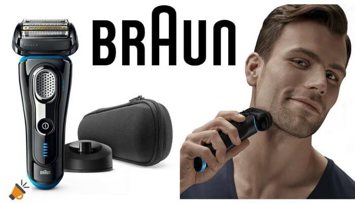 ¿Buscas una afeitadora eléctrica barata  Consigue aquí la Braun Series 9  9240s 28d0951fc759