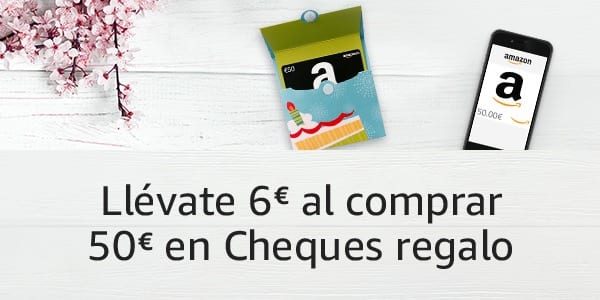 6 gratis en cheques regalo para tus compras en amazon for Codici regalo amazon gratis