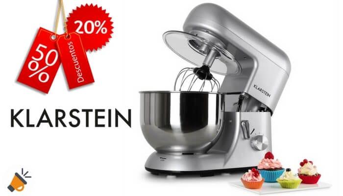 Precio m nimo robot de cocina multifunci n klarstein for Robot de cocina multifuncion