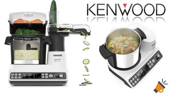 ahorras 280 robot de cocina kenwood kcook multi solo 419. Black Bedroom Furniture Sets. Home Design Ideas