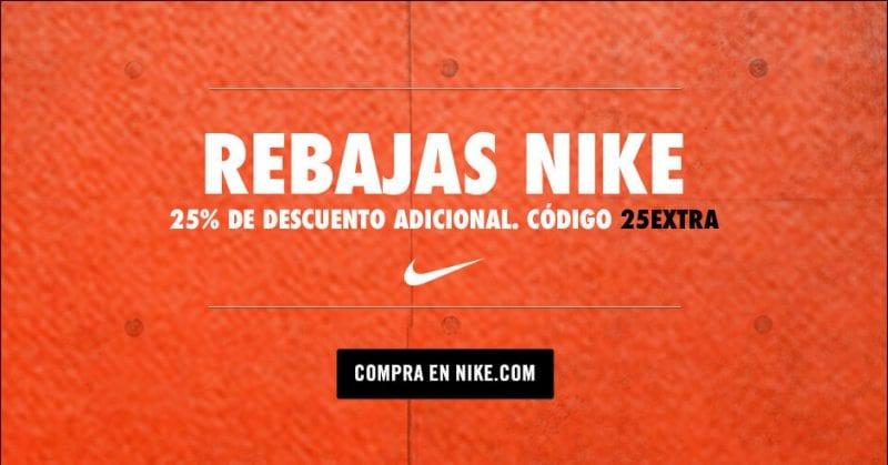 61a19fd141a ¿Buscas ropa deportiva barata  Aprovecha el cupón descuento 25EXTRA de Nike