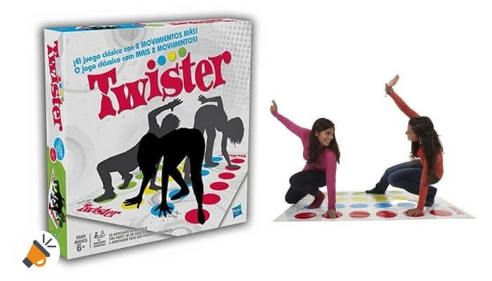 62 Dto Solo Hoy Juego Twistter De Hasbro Gaming Por 9 99