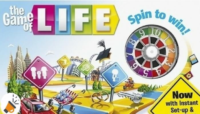 Chollo Juego De Mesa Game Of Life De Hasbro Solo 21 17