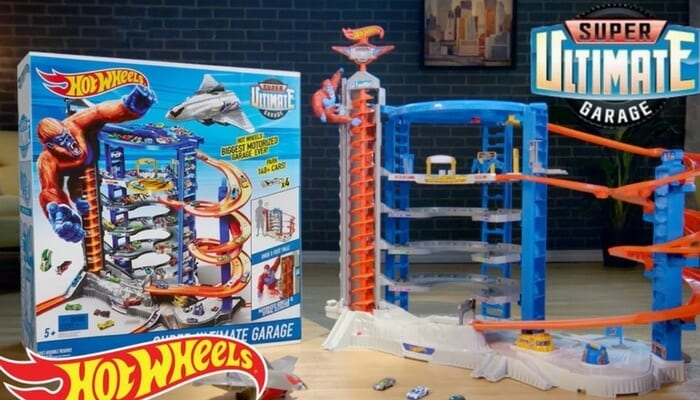 9f08af3d1fb0 AHORRA 160€! Super Ultimate Garage de Hot Wheels solo 99