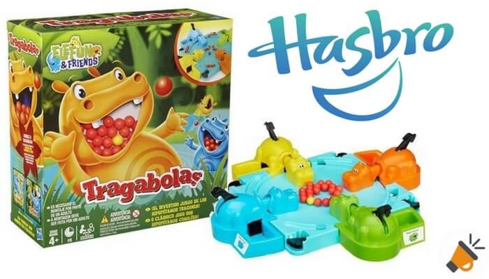 Oferta Juego De Mesa Tragabolas De Hasbro Solo 15 50