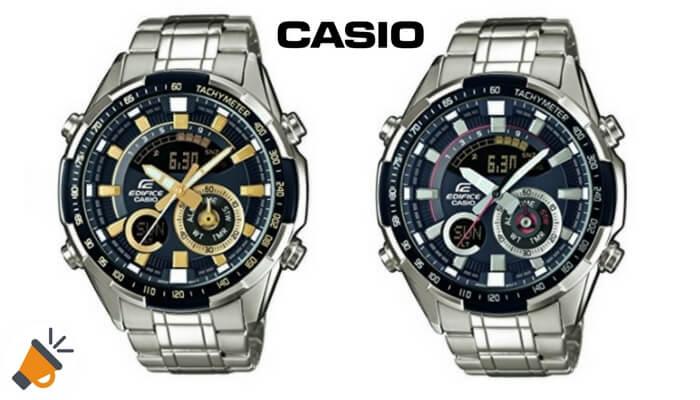 947e771035d 64€ DTO! Reloj de cuarzo analógico digital Casio Edifice por solo 135