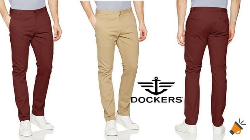 fdd4564973 CHOLLO! Pantalones de hombre Dockers por solo 38€ ¡Envío gratis!