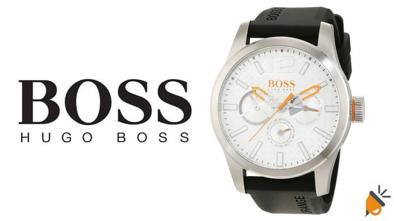 60958e48fa74 OFERTA FLASH AMAZON! Reloj Hugo Boss Orange por tan solo 94