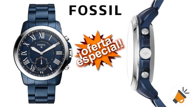 b7fbbc151999 MITAD DE PRECIO! Smartwatch Fossil Q Grant por solo 99