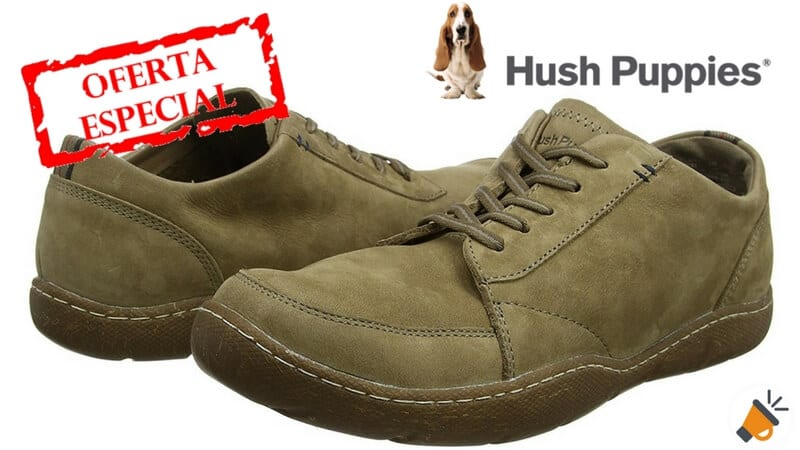 OFERTÓN! Zapatos Hush Puppies Furman Sway por 39,50€ (PVP: 105€)