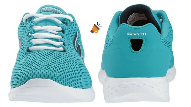 Go Train-Hype, Zapatillas de Entrenamiento para Mujer, Turquesa (Turquoise), 39 EU Skechers