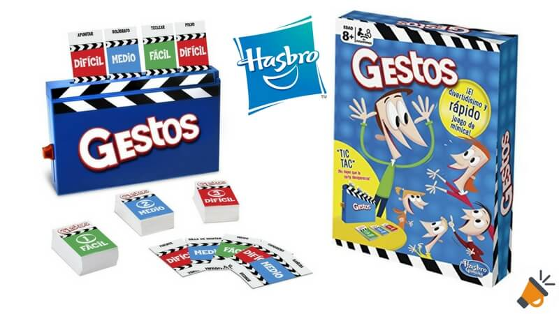 75 De Descuento Juego De Mesa Gestos De Hasbro Por Solo 10 99