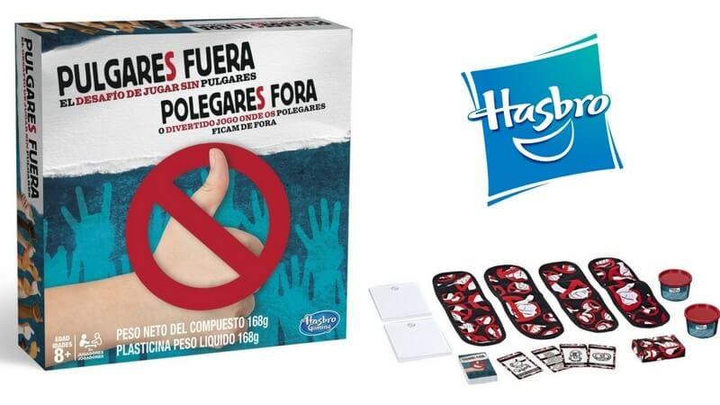 Chollo Juego De Mesa Pulgares Fuera De Hasbro Por Solo 16 99