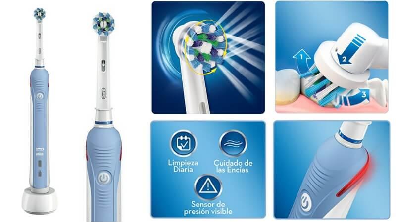 47% DTO! Cepillo eléctrico recargable Oral-B PRO 2000 por sólo 48 698d7f710272