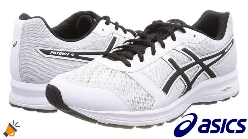 zapatilla running patriot 9 asics