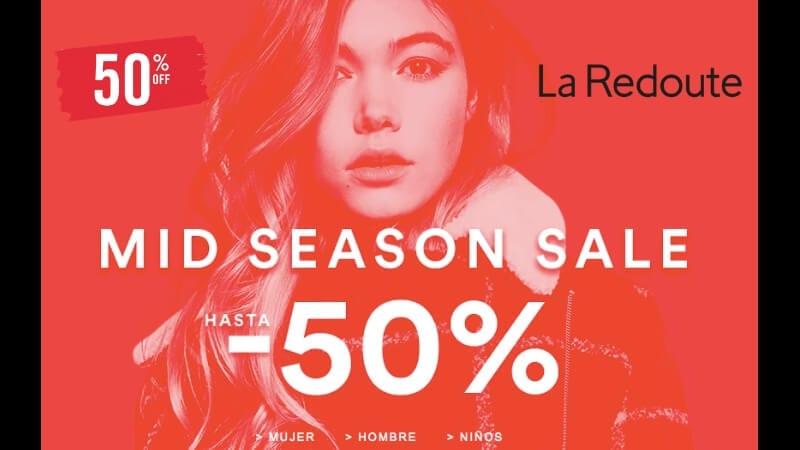 50% DTO. + SIN IVA en la Mid Season Sale de La Redoute